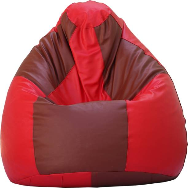 Beanskart XXXL (Filled ) Teardrop Bean Bag  With Bean Filling