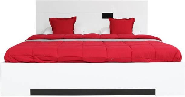 Hometown Edwina Engineered Wood Queen Hydraulic Bed