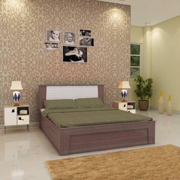 Hometown Ambra Engineered Wood King Box Bed