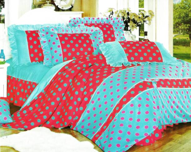 Indian Heritage Cotton Double Printed Bedsheet