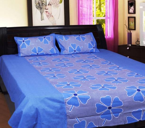 98ef9208b7 Cotton Bedsheets Online at Discounted Prices on Flipkart