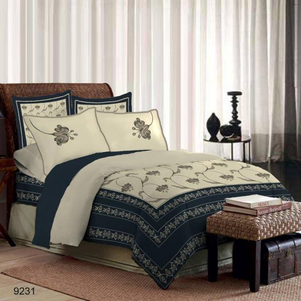 Bombay Dyeing Cotton Double Printed Bedsheet