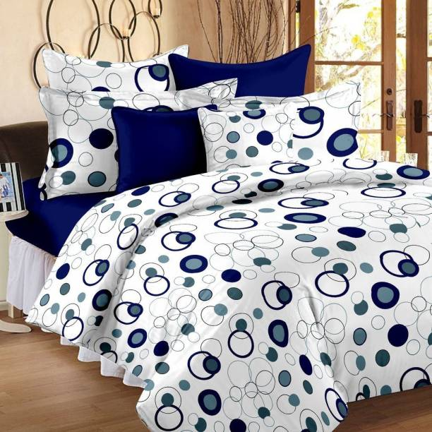 Hilife 144 Tc Cotton Double Printed Bedsheet