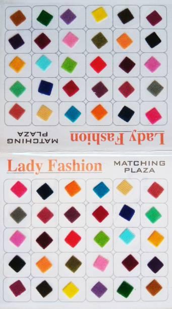 Lady FASHION Matching Plaza 2610201603 Forehead Multicolor Bindis