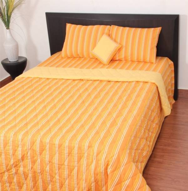 Thuhil Striped Double Quilt