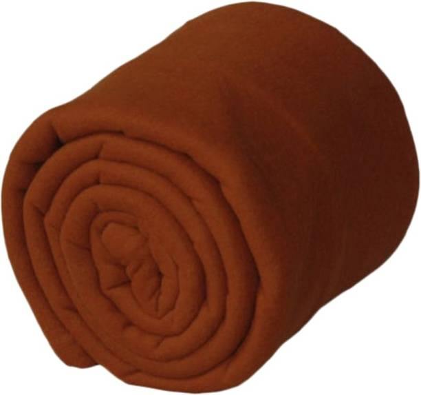 Goyal Fashion Solid Single Fleece Blanket