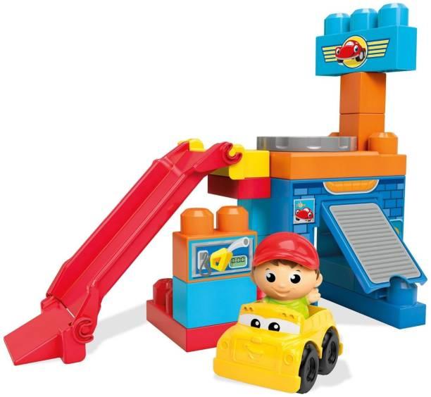 Mega Blocks First Builders Mechanic Shop (Garage)