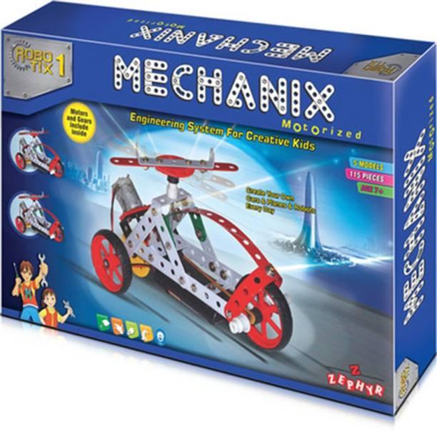 MECHANIX Motorized Robotics 1 (114 Pcs)