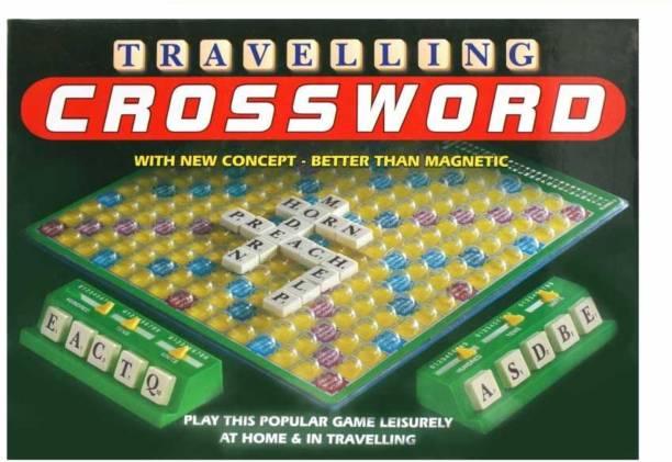 Ratnas Travelling Crossword Word Games Board Game