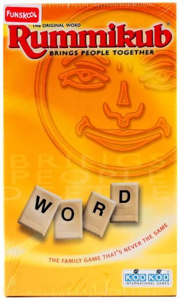 FUNSKOOL Rummikub Mini Word Game Word Games Board Game