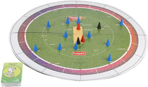 FUNSKOOL Cricket (Howzzat) Strategy Game Indoor Sports Games Board Game