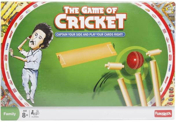 FUNSKOOL The Game of Cricket Strategy & War Games Board Game
