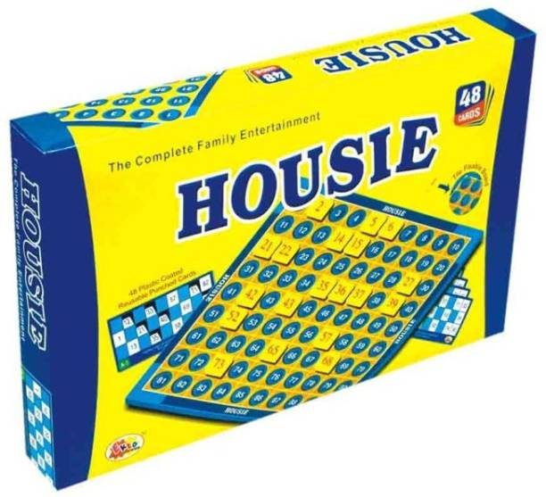 Ekta Housie Board Game Party & Fun Games Board Game