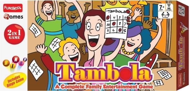 FUNSKOOL Tambola Party & Fun Games Board Game