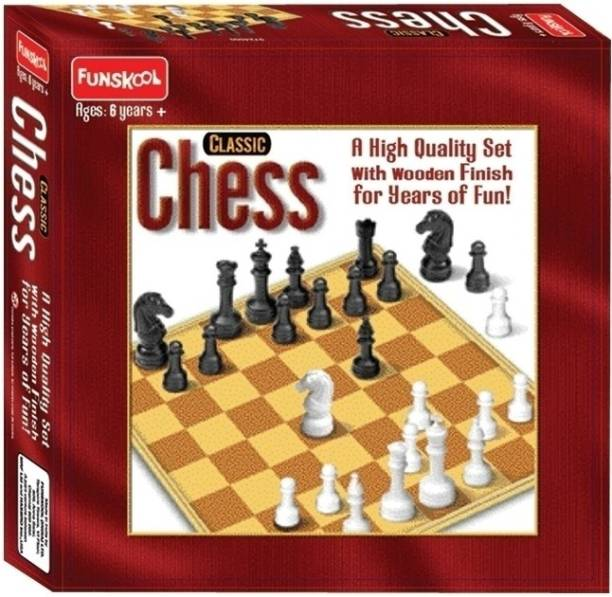 FUNSKOOL Chess Classic Strategy & War Games Board Game