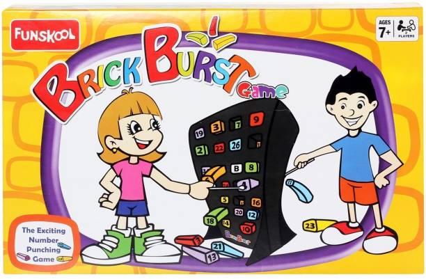 FUNSKOOL Brick Burst Board Game Accessories Board Game