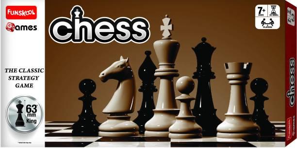 FUNSKOOL Chess Strategy & War Games Board Game