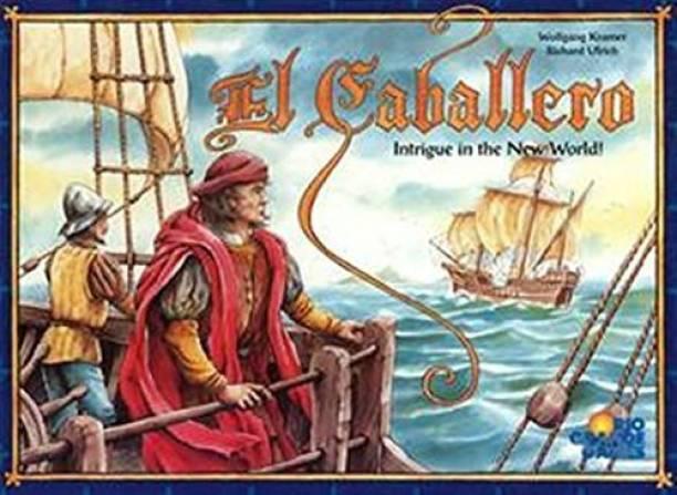 Rio Grande Games El Caballero Indoor Sports Games Board Game
