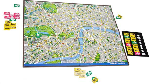 FUNSKOOL Scotland Yard Strategy & War Games Board Game
