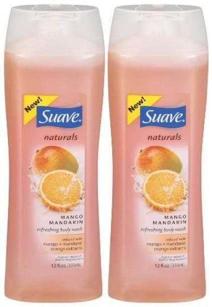 Suave Body Wash - Mango Mandarin 2 Pk