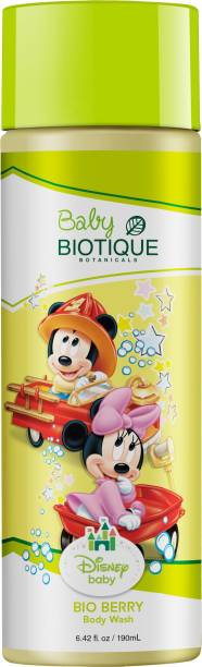 BIOTIQUE Disney Baby BIO BERRY (Mickey) Body Wash 190ml