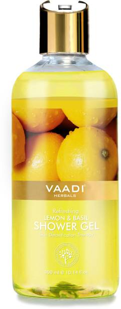 VAADI HERBALS Refreshing Lemon & Basil Shower Gel