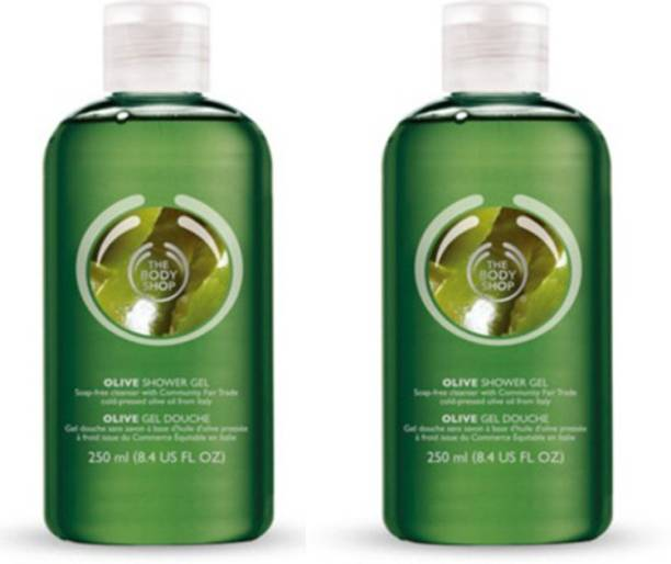 THE BODY SHOP Olive Bath Shower Gel Pack Of 2
