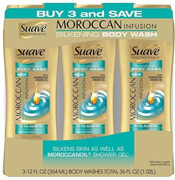 Suave Professionals Moroccan Infusion 3 pk
