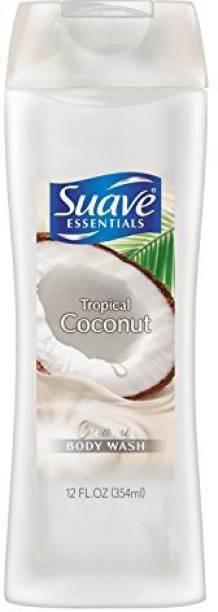 Suave Essentials Body Wash, Creamy Tropical Coconut