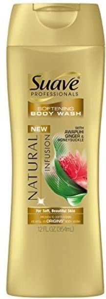 Suave Professionals Body Wash, Natural Infusion Ginger