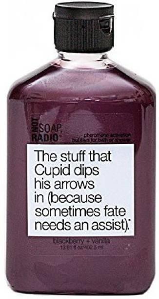 Not Soap, Radio Blackberry & Vanilla Body Scrub The Stuff That Cupid Dips His Arrows In