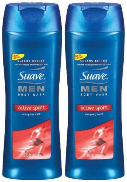 Suave Men 2X Fresh & Clean Sport Recharge