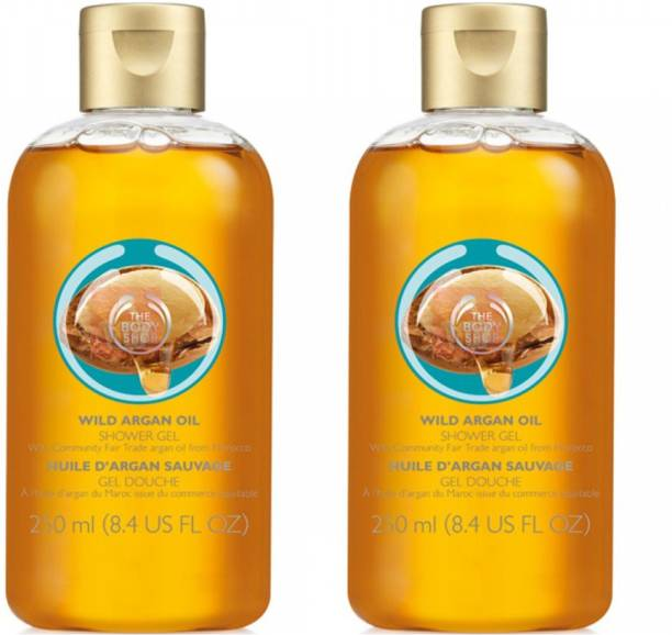 THE BODY SHOP Wild Argan Oil Shower Gel Pack Of 2