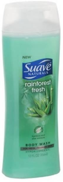 Suave Naturals, Body Wash, Rainforest Fresh -3 Pack