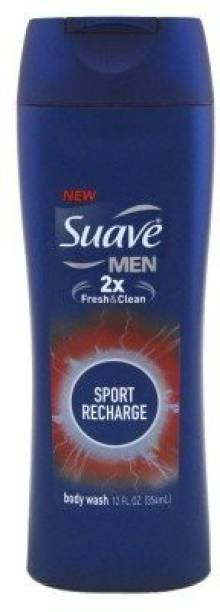 Suave Body Wash Men'S, Active Sport(Pack Of 2)