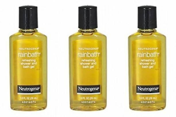 NEUTROGENA Rainbath Refreshing Shower And Bath Gel Travel Size (Pack Of 3)
