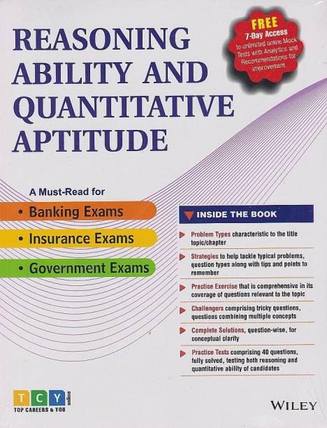 Wiley's Reasoning Ability and Quantitative Aptitude