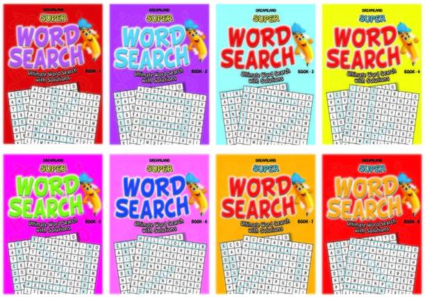 Super Word Search - 1-8 (8 titles) Pack