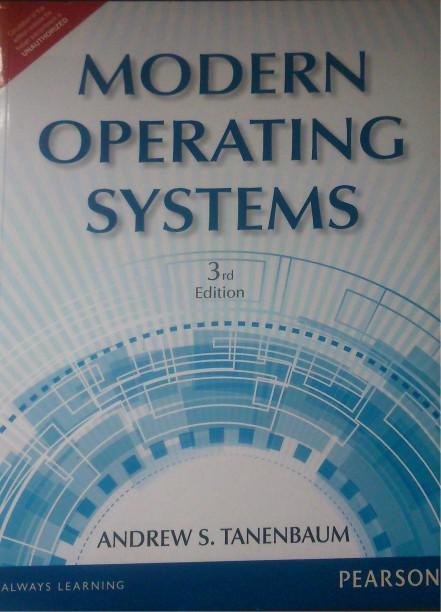 Modern Operating System Tanenbaum Pdf