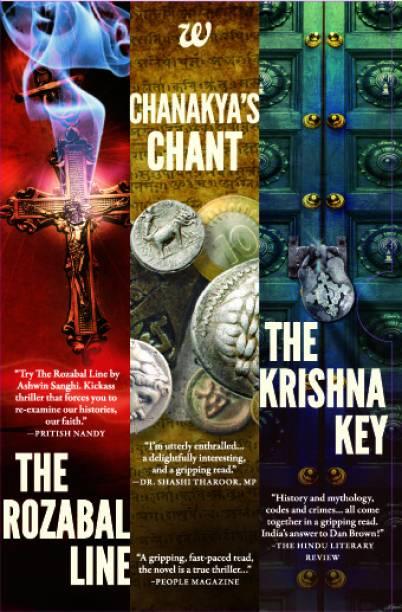 Ashwin Sanghi Boxset (Set of 3 Books)