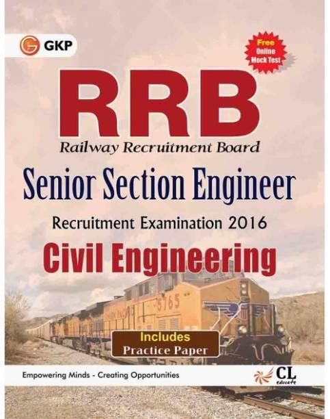 RRB Civil Engg. (SENIOR SECTION ENGINEER) 2016