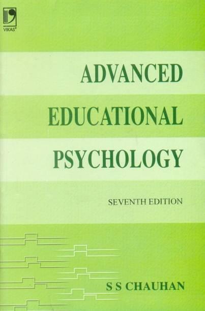 Advanced Education Psychology,Chauhan