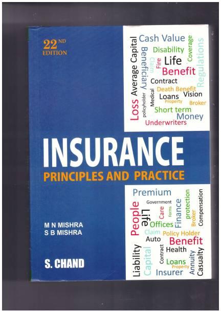 Insurance Principles & Practice book