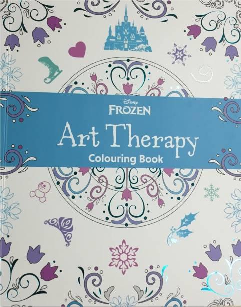 Disney Frozen - Art Therapy Colouring Book