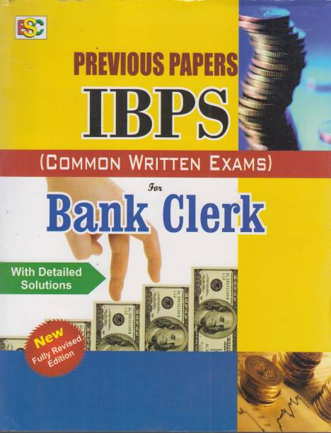 Previous Papers IBPS (Common Written Exam) for Bank Clerk Exam With Detailed Solution