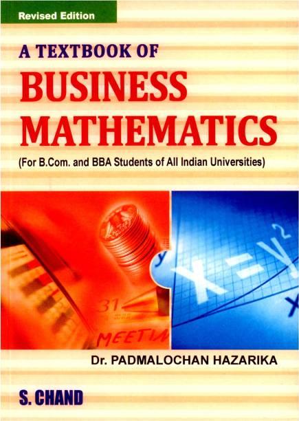 A Class Textbook of Business Mathematics