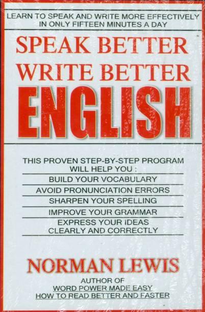 Speak Better Write Better English