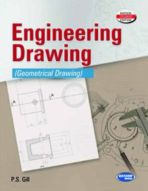 P S Gill Engineering Drawing Design Buy P S Gill Engineering