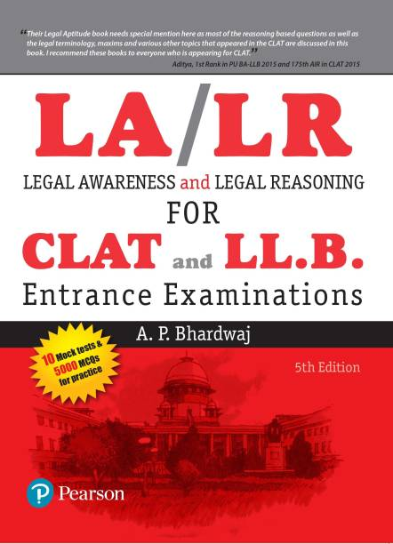 Legal Awareness and Legal Reasoning For the CLAT and LL.B. Entrance Examinations