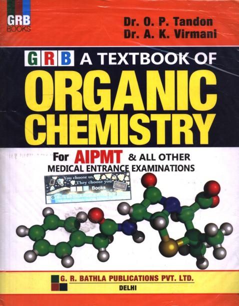 Op Tandon Organic Chemistry Book